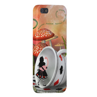Surreal Alice, Flamingo & Teacup iPhone 5/5S Cover