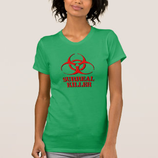 Surreal Killer shirt with biohazard symbol