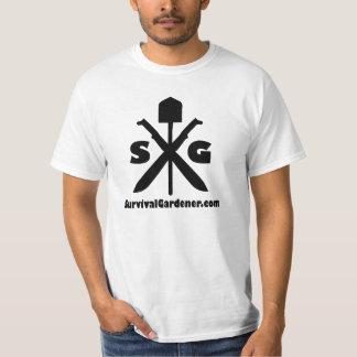 Survival Gardener Crossed Machetes Shirt