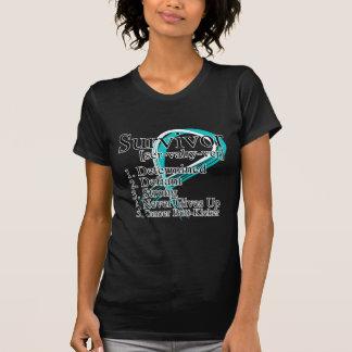 Survivor Definition - Cervical Cancer T Shirt