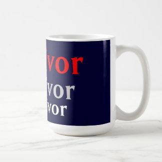 Survivor Navy Coffee Mug
