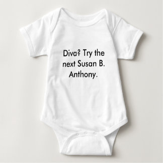 Susan B. Anthony Baby Bodysuit
