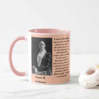 susan b anthony mug
