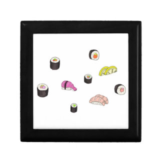 Sushi and Sashimi Small Square Gift Box