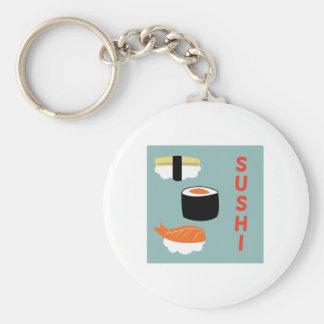 Sushi Key Chains