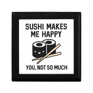 Sushi Makes Me Happy Gift Box
