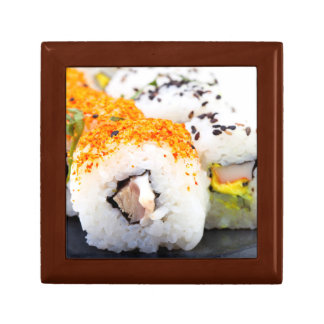 Sushi on a plate gift box