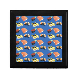 Sushi pattern gift box