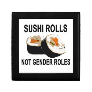 Sushi Roles not gender roles.png Small Square Gift Box