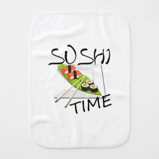 Sushi Time Burp Cloth