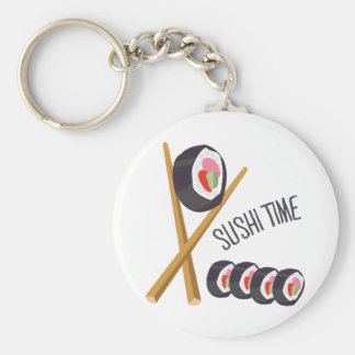 Sushi Time Keychains