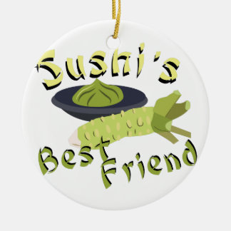 Sushis Friend Christmas Ornament