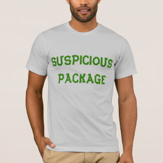 """Suspicious Package"" t-shirt"