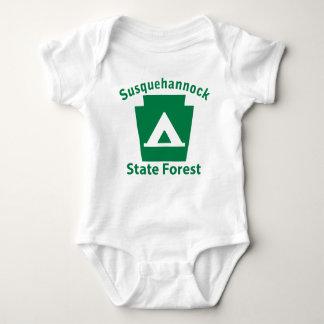 Susquehannock SF Camp Baby Bodysuit