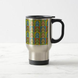 Sussex Spaniel Dog Cartoon Pop-Art Coffee Mug