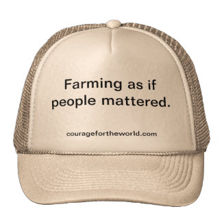 Sustainable Agriculture Hat
