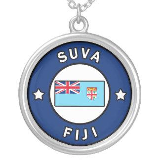 Suva Fiji Silver Plated Necklace