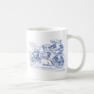 Suz GSXR750 2000-03 Basic White Mug