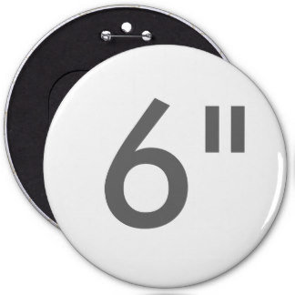 """6"""" Round Badges COLOSSAL"""
