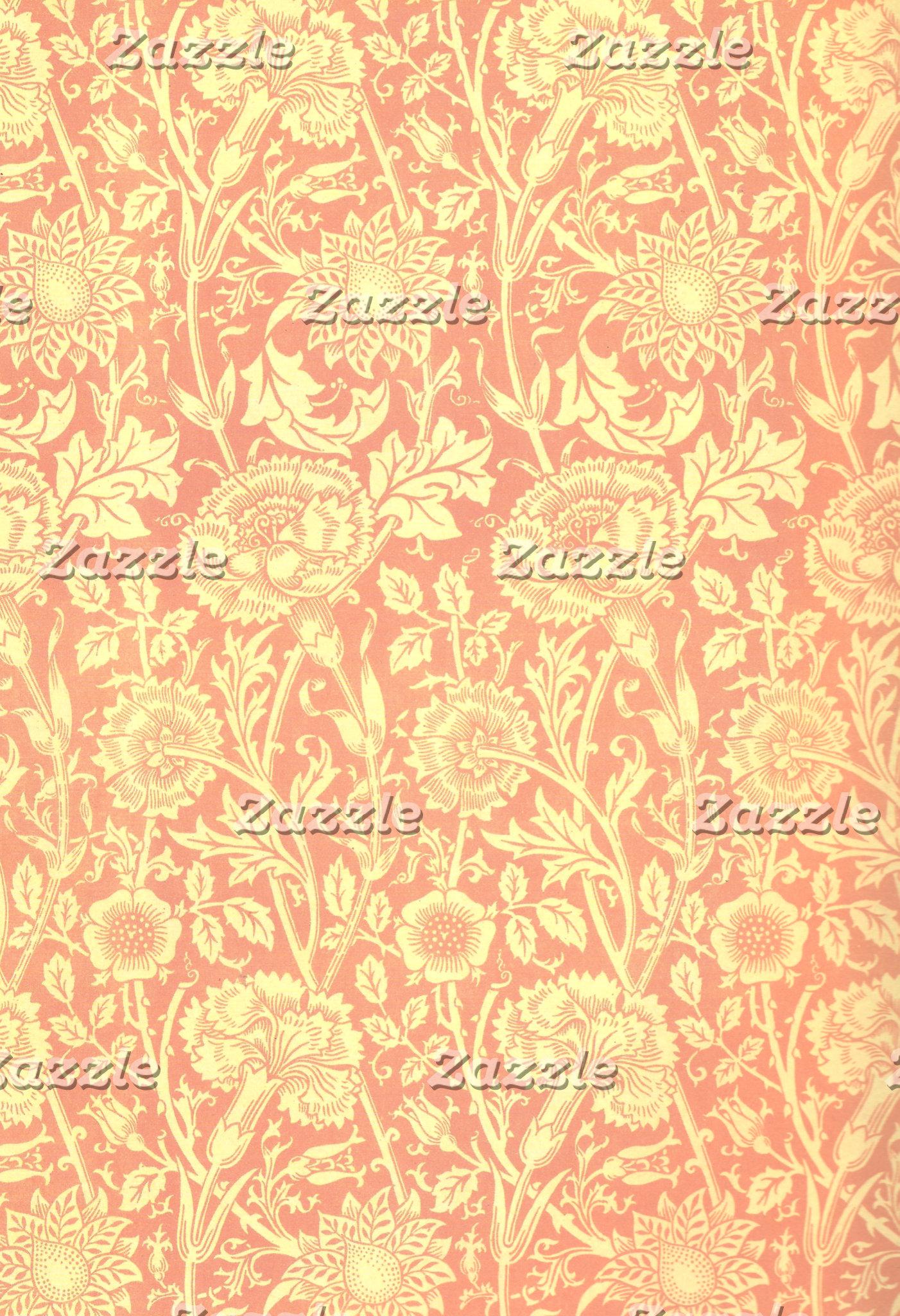 William Morris Pink and Rose Design