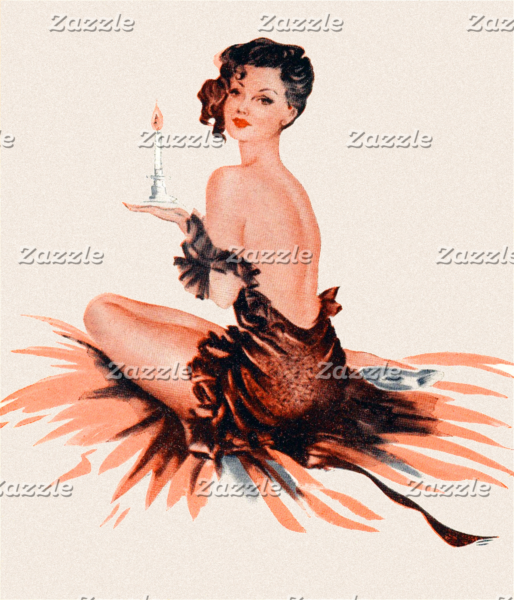 Candlelight Pin Up