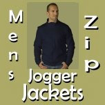 Zip Jogger Jackets for Men