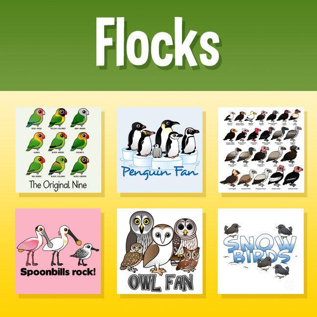 Birdorable Flocks