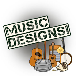 Music Themed Designs