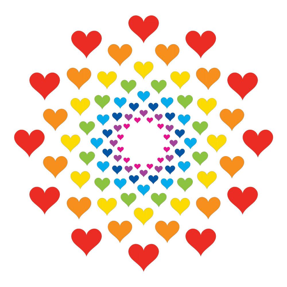 Hearts around Hearts