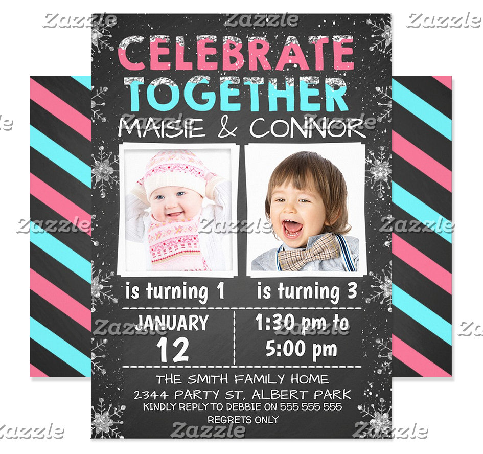 Join Birthday Invitations