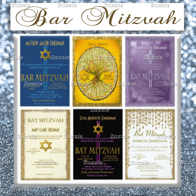 Bar / Bat Mitzvah Invitations