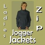 Zip Jogger Jackets for Women