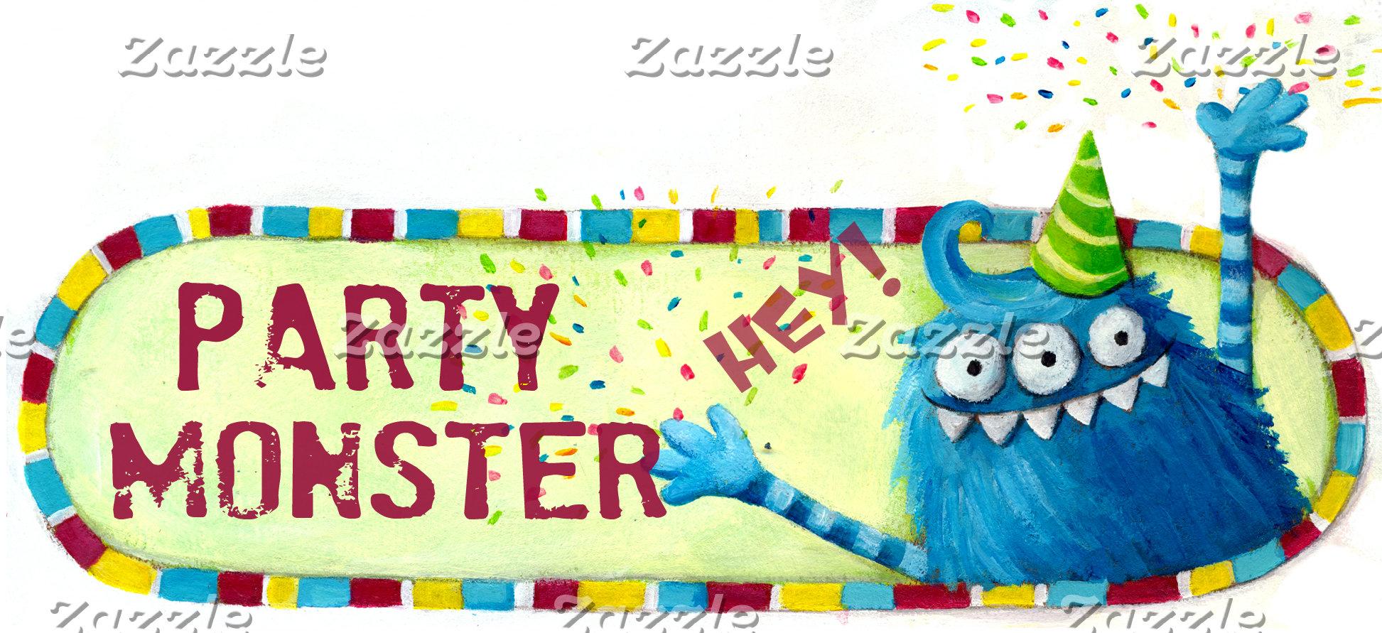 Party Monster Logo -hidden