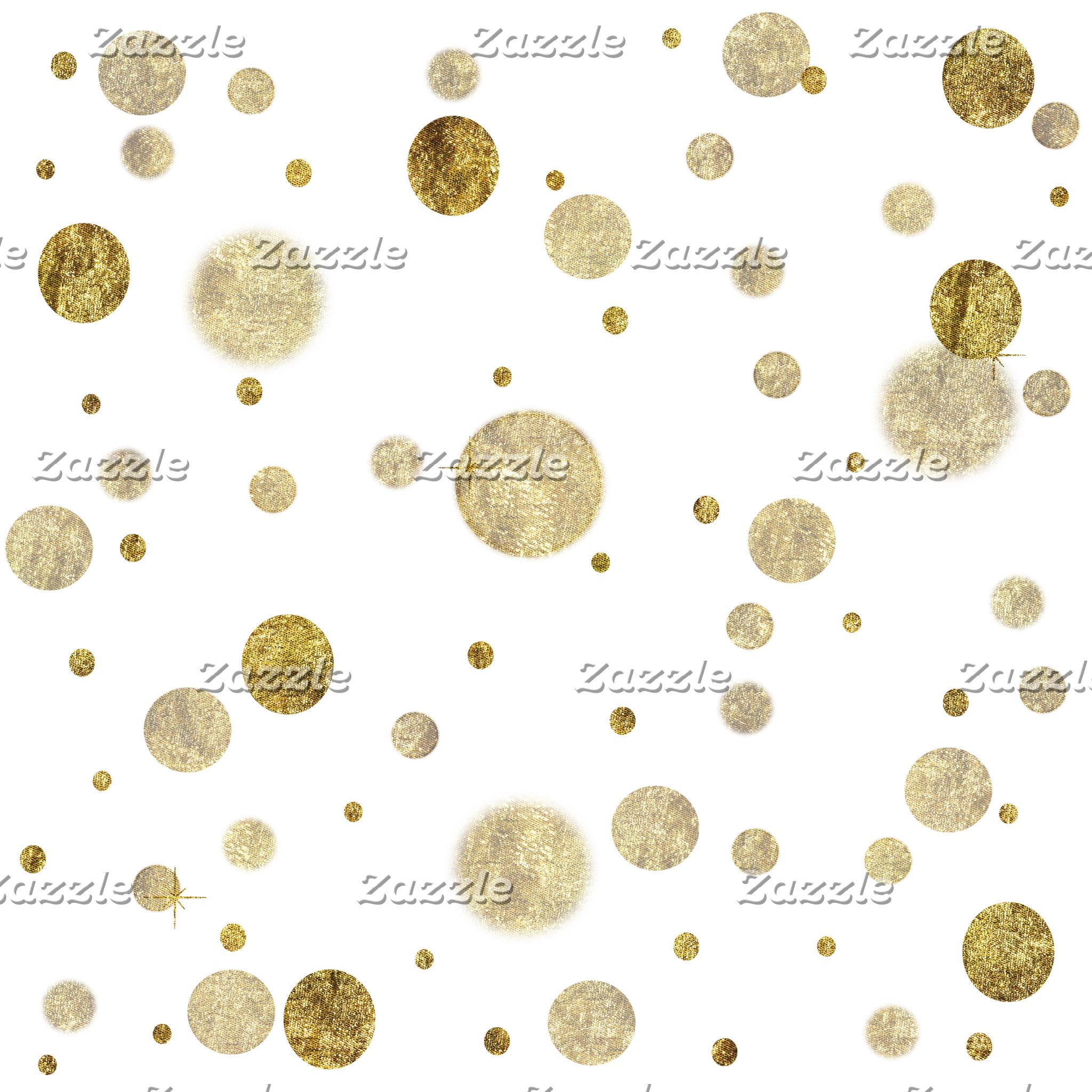 Bokeh, Confetti and Dots