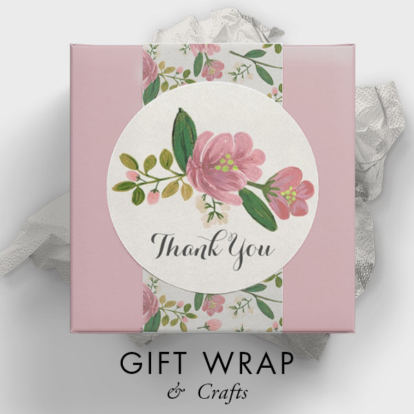 GIFT WRAP & CRAFTS