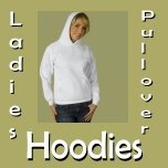 Ladies Pullover Hoodies