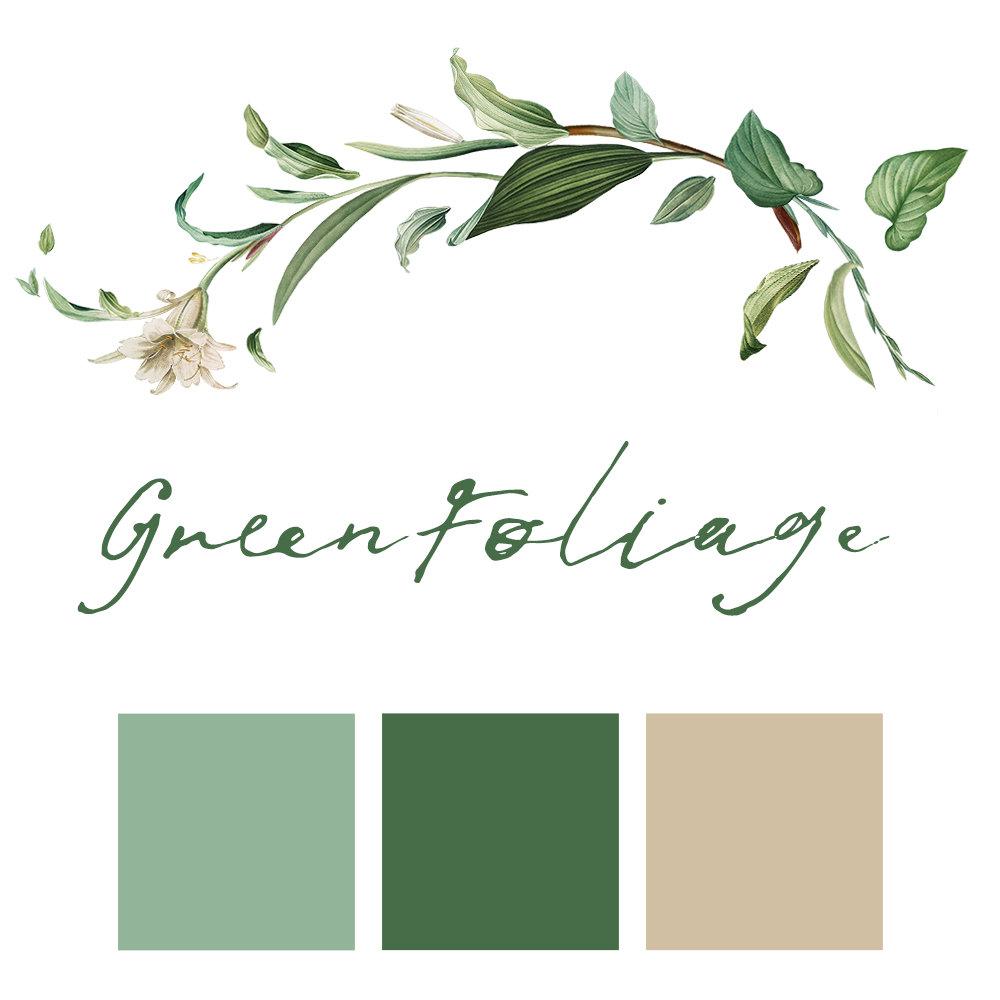 Green Foliage Wedding