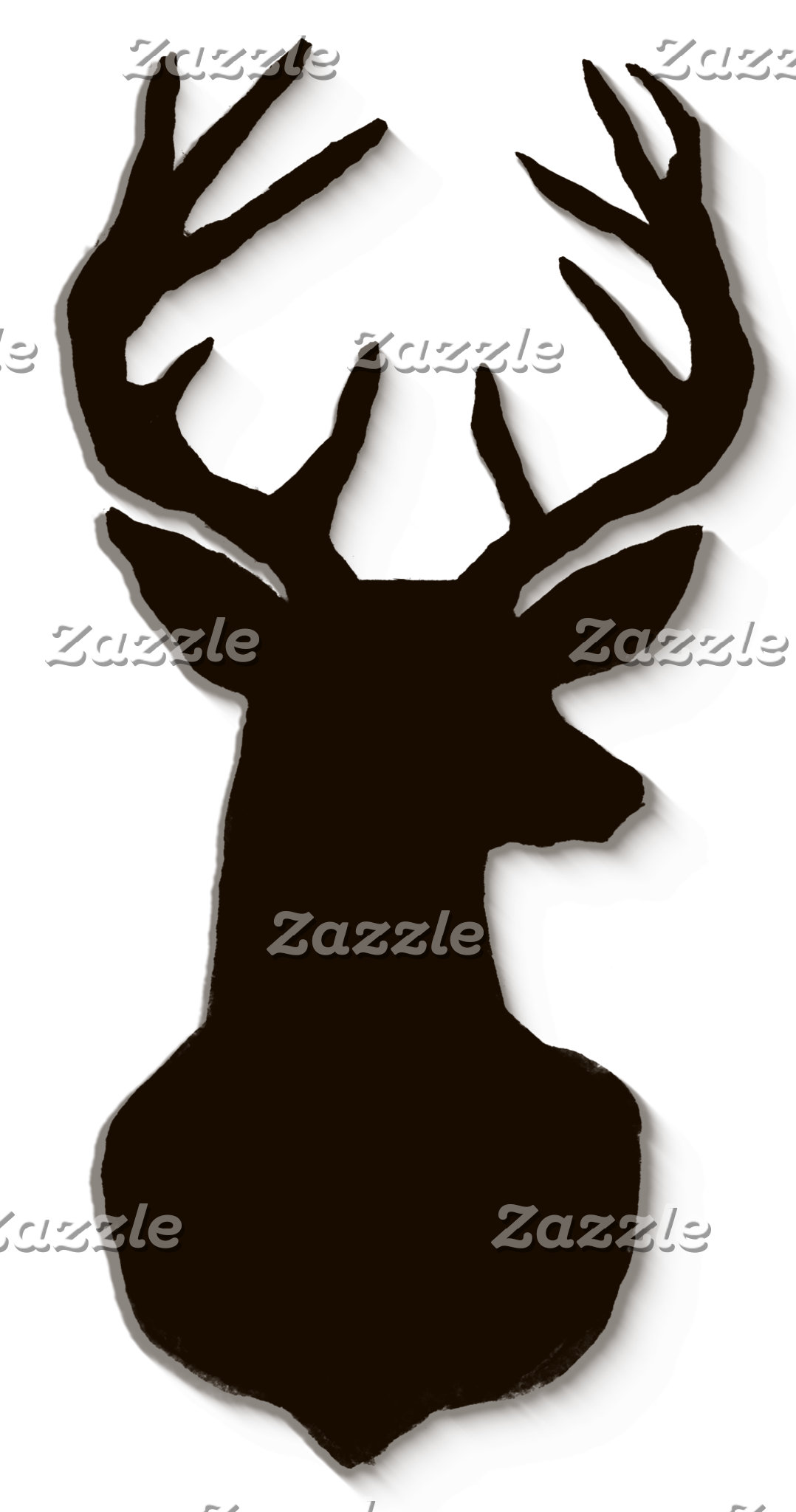 Buck Antlers Wood Graduation Collection