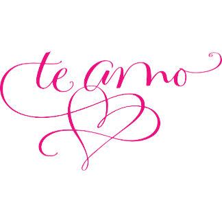 Te Amo Corazón / I Love You Heart