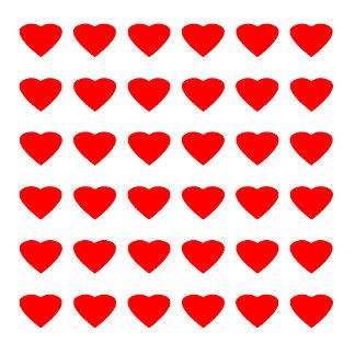 Be My Valentine Hearts 36 Red Transp  jGibney