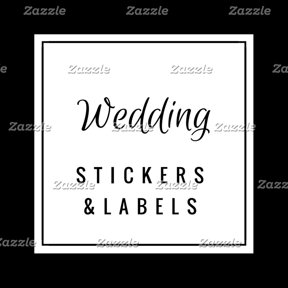 Wedding Stickers / Labels