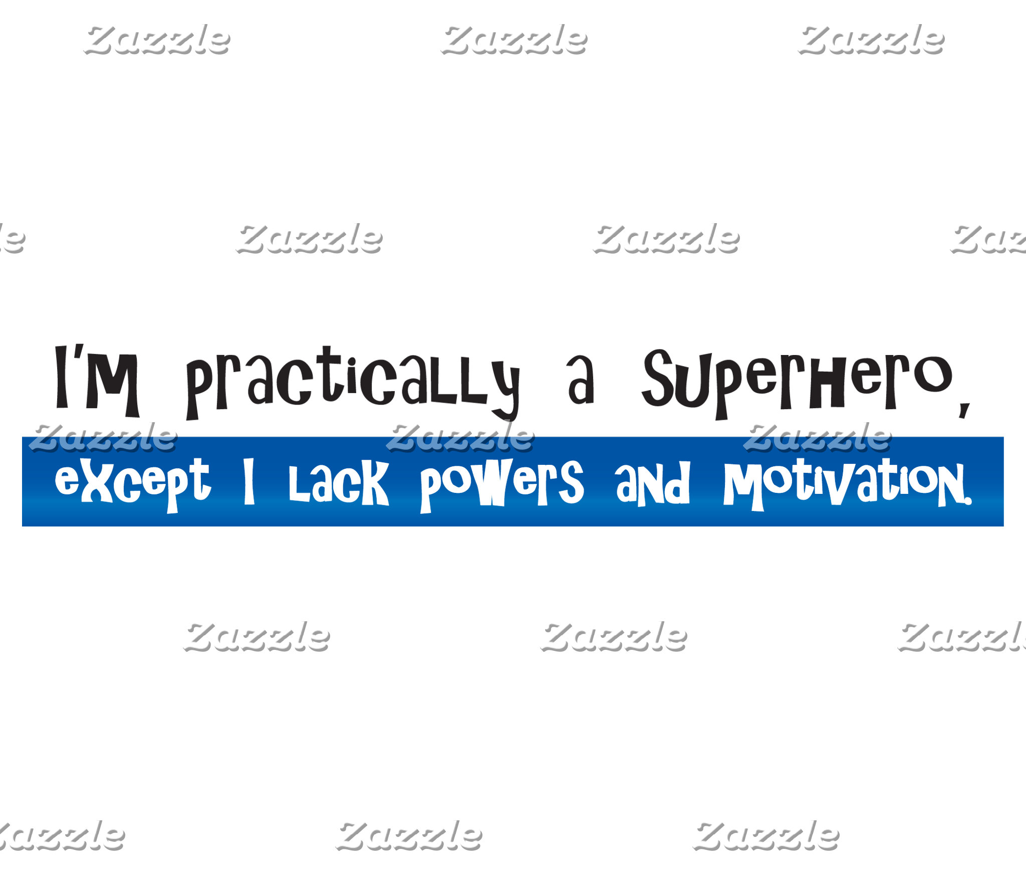 Practically a Superhero