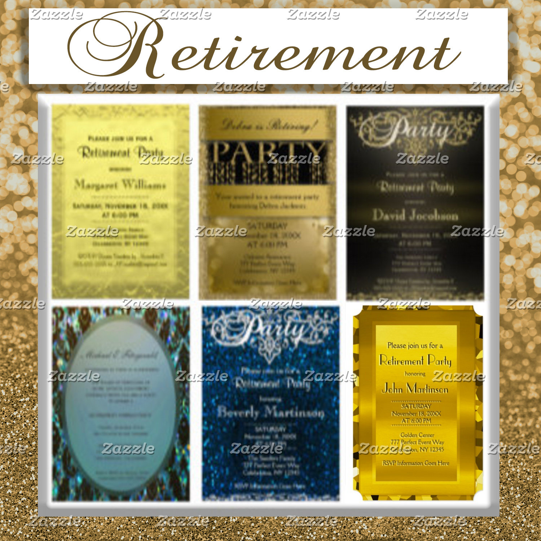 Invitations - Retirement
