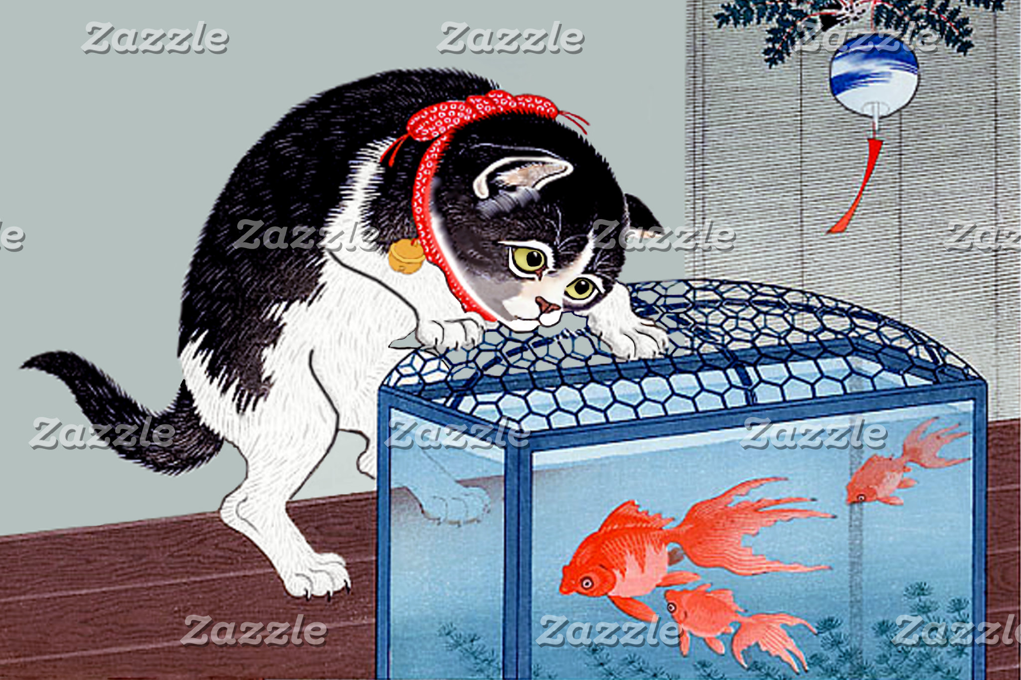 Japanese Cat Art