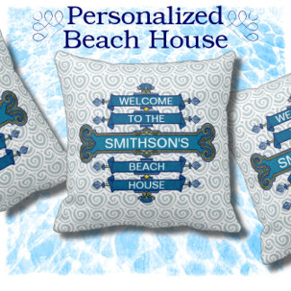 Beach House Personalized