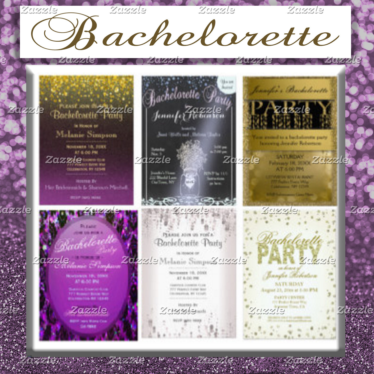 Bachelorette Party Collection