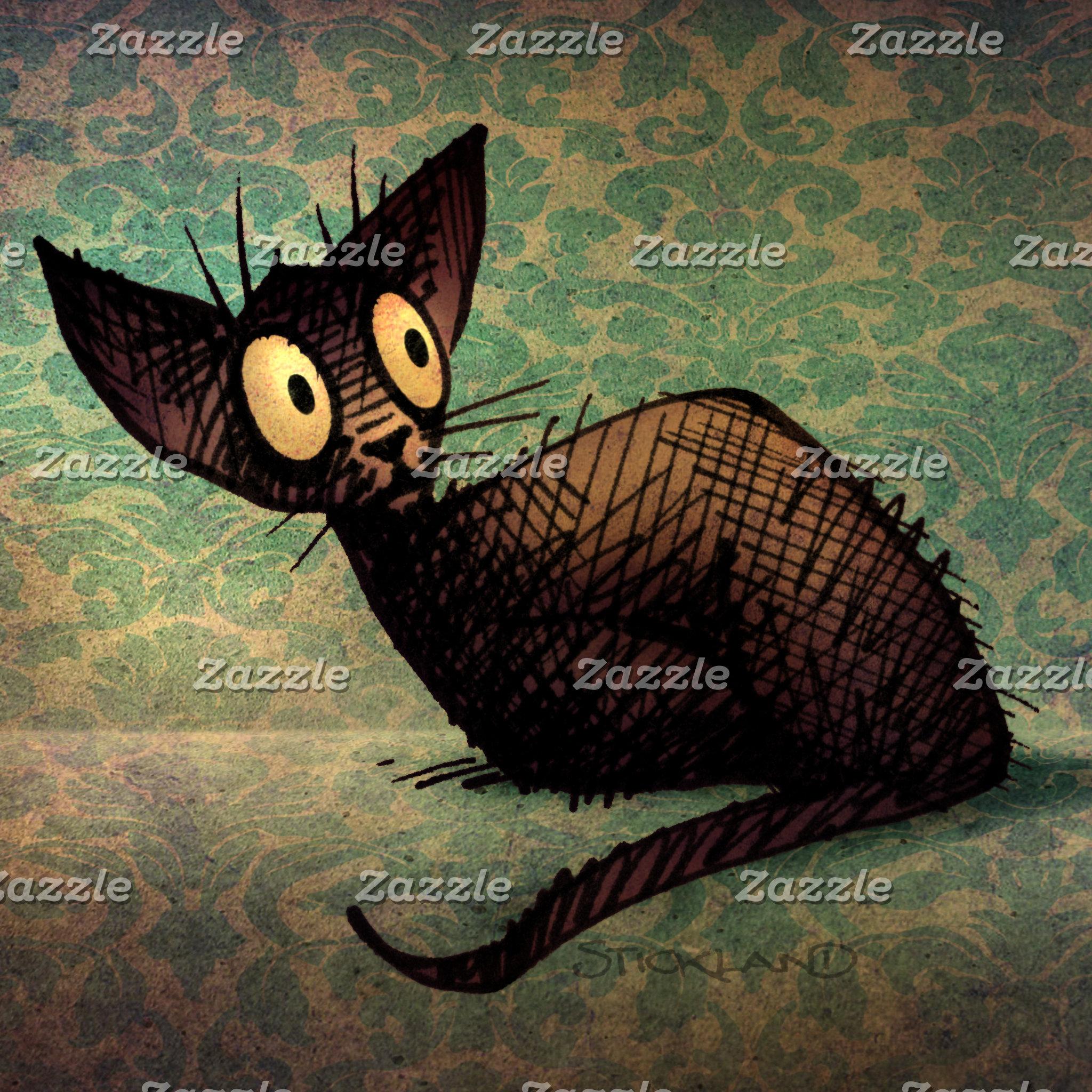Cute Black Oriental Cat