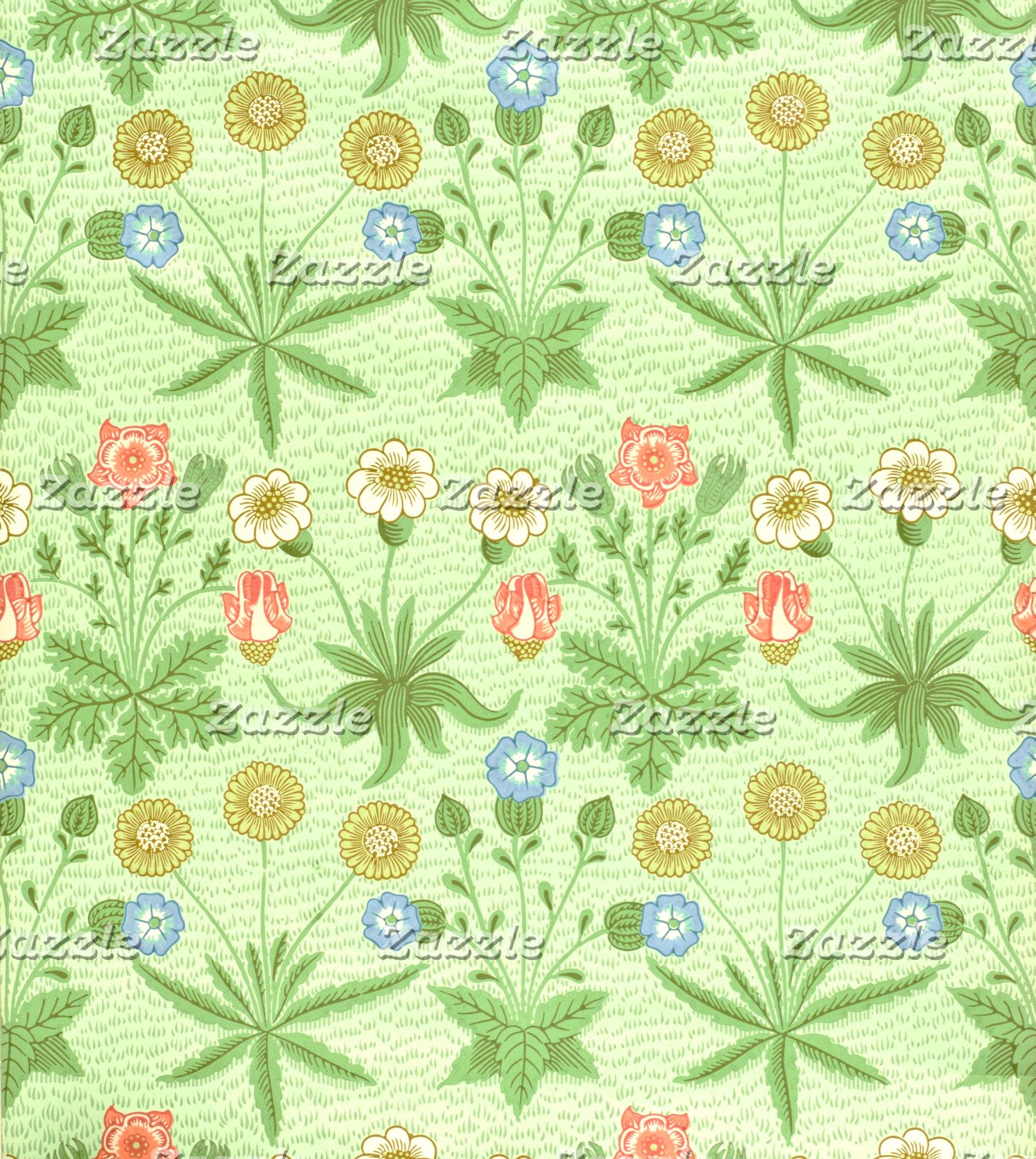 William Morris Daisy Pattern