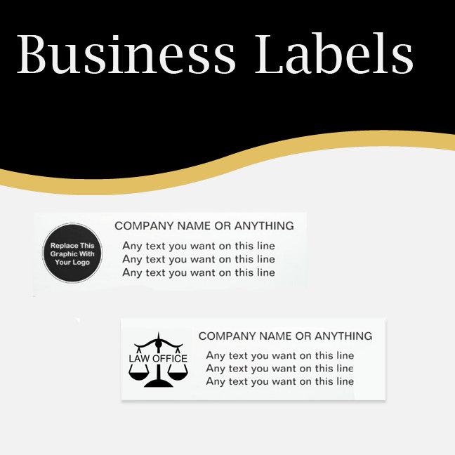 Business Labels