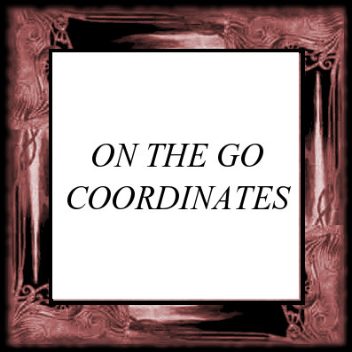 ON THE GO COORDINATES